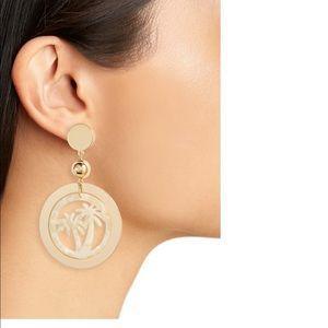 Ettika Palm Tree Earrings